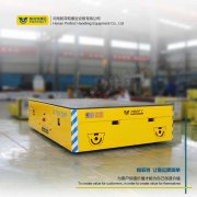 厂家:四川省19吨蓄电池轨道平车自动化运输平板设备-帕菲特电动平